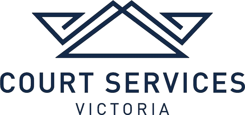 Court Services Victoria Logo - click to go to homepage