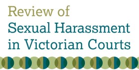 Review of Sexual Harassment in Victorian Courts image